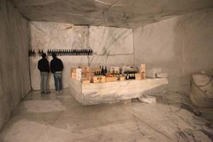 "Marble meets wine with the "" Cantina di marmo"""
